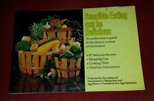 Vintage 1976 Fleischmann's Margarine & Egg Beaters Promo Cookbook pb 87 Recipes