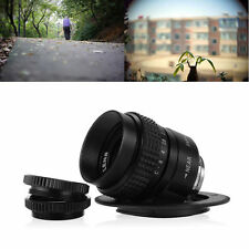 25mm f1.4 C Mount CCTV Lens for Micro 4/3 M4/3 Camera E-P2 E-PL2 E-P5 E-PL5 LF10