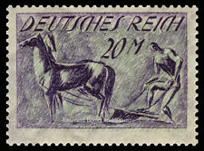 EBS Germany 1922 Ploughman Pflüger 20 Mark stamp MNH Michel No. 196**