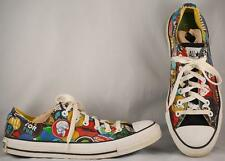 Women's Converse All Star Multi-Colored Canvas Sneakers US 10 UK 8 EUR 41.5