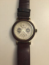 WINCHESTER OROLOGIO UOMO PELLE DATA WATCH MAN LEATHER DATE VINTAGE 1989
