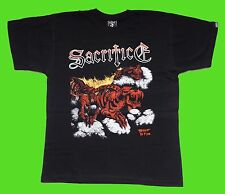 SACRIFICE-TORMENT IN FIRE (L) t-shirt NEW, heavy, thrash, metal