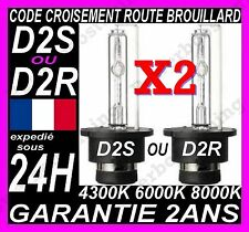 PAIRE AMPOULE LAMPE FEU PHARE XENON D2S D2R HID FEUX CODE ROUTE CROISEMENT  35W