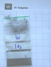 10g 99,95% Fine Tungsten Metal powder - Pure Element 74 sample