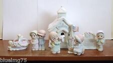 Precious Moments Sugar Town Schoolhouse 272876 (Set of 6) NEW IN BOX (PR13)