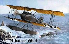 ALBATROS W.4 (W.IV) WW I FLOAT FIGHTER (KAISERLICHE LUFTWAFFE MKGS)  1/72 RODEN