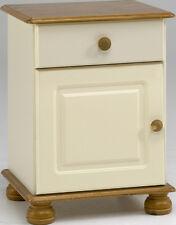 Steens Richmond 1 Drawer 1 Door Bedside in Cream and Pine