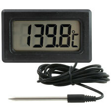 Outside Thermometer Black//Silver Carpoint 1121212 Inside