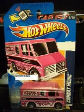 HOT WHEELS 2012 #135 -2 COMBAT MEDIC PINK CANCER WAL-MART AMER CA