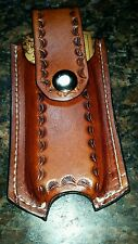 Custom Leatherman WAVE CHARGE  leather sheath holster horizontal vertical