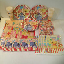 Winnie The Pooh Party Pack for 30 Children - Complete Tableware & Decorations