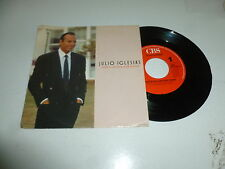 "JULIO IGLESIAS - Love Is On Our Side Again - 1988 Dutch 2-track vinyl 7"" single"