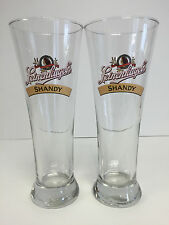 Leinenkugel's Summer Shandy 16 oz. Pilsner Pint Glass ~ Two / 2 Pack Glasses NEW
