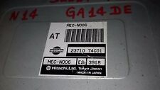 NISSAN GA14DE ECU 23710 74C01 MEC-N006 E2 3918 HITACHI LTD USED.