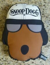 Snoop Dogg Plush Pillow Stuffed Dog Wearing Hat