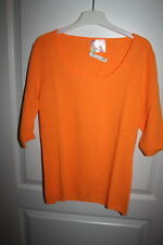 Princess goes Hollywood 100% Kaschmir Cashmere GR 38 orange Pulli Pullover