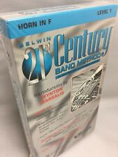VHS Tape ~ Belwin 21st Century Band Method Horn in F Level 1 NEW Sealed