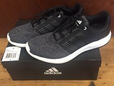 NEARLY NEW MENS ADIDAS PERFORMANCE MADORU 2 RUNNING SHOE BLACK SIZE 8