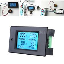 TSPZEM-061 Digital LCD Current Voltage Meter Power Test AC 80V-260V 0-22kW O9JZ