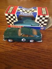 Vintage Scalextric Aston Martin C68 sunshine roof version in green boxed vgc