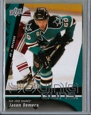 JASON DEMERS 2009-10 UPPER DECK 1 YOUNG GUNS RC SP #215 PANTHERS