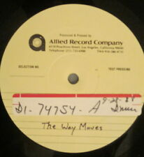 THE WAY MOVES s/t LP Alternative Rock – TEST PRESSING