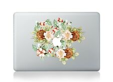 "Roses Flowers Laptop Apple Sticker Viny Decal Macbook Air/Pro/Retina 13""15"""