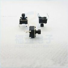 50PCS 6*6*7.3MM Square Head Tactile Push Button Switch Tact Switch 4-Pin DIP