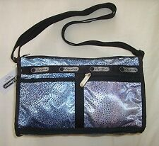 NWT LeSportsac 7519 Deluxe Shoulder Satchel  MAGICAL COSMOS 7519 D703