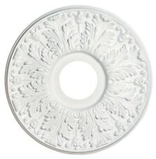 """Westinghouse 7702800 Victorian White Ceiling Medallion, 16"""""""