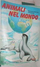 ALBUM ANIMALI NEL MONDO Edizioni Fol Bo 1972 Completo Fauna Ricerche Ragazzi di