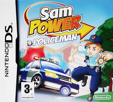 Nintendo DS-Sam Power Policeman Nds GAME NEW
