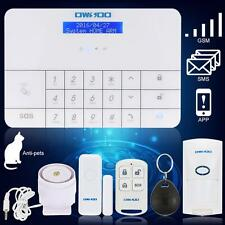 OWSOO Wireless Home House Alarm Security System Autodial GSM Touch Keypad U1M7