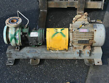 """Goulds 3196 316 stainless steel pump 3"""" x 2"""" Chemical process pump 4kW 2 pole"""