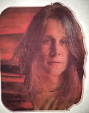 Vintage 70s Todd Rundgren Iron-On Transfer Rock & Roll RARE!