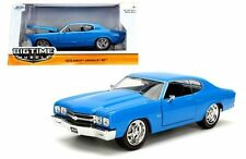JADA 1:24 W/B BIG TIME MUSCLE 1970 CHEVROLET CHEVELLE SS DIECAST CAR 97828