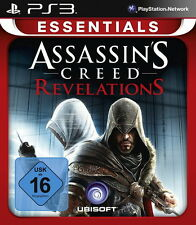 Play Station 3 Spiel PS3 Assassins Creed - Revelations mit Anleitung