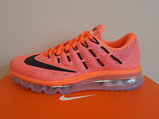 Nike Wmns Air Max 2016 Hyper Orange/Black-Sun Glo (806772 800) Size UK 5.5 EU 39