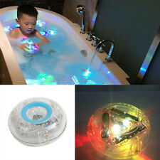 New Party in the Tub Bath Time Fun Kid Shower Funny Color Changing LED Light Toy