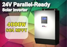 New! 24v 5kva 4000w Solar inverter 80A MPPT solar charger 60a battery charger