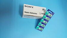 SONY SR416SW 337 SR416 Silver Oxide Watch Battery x100