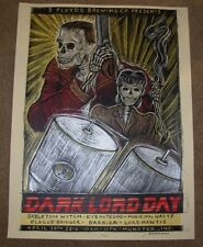THREE FLOYDS BREWING Poster DARK LORD DAY 2016 Label Art craft beer brewery 3
