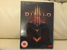 DIABLO 3 III FOR PC & MAC NEW SEALED **LOOK**