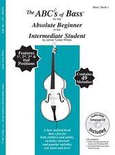 Abc De Contrabajo absoluta para principiantes e intermedios Estudiante La Música Libro & Cd