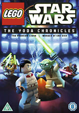 STAR WARS LEGO - THE YODA CHRONICLES - EPISODES 1 & 11 - DVD - REGION 2 UK