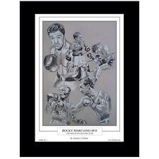 Boxing Rocky Marciano Limited Edition Fine Art Print By Patrick J. Killian