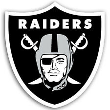 "OAKLAND RAIDERS *BIG* 12"" MAGNET for CAR AUTO FRIDGE METAL NFL FOOTBALL"