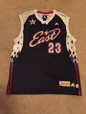 Adidas Lebron James '07 All-Star Game Jersey #23, Eastern Conference Blue/Gray M