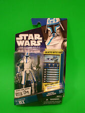 Star Wars The Clone Wars 2010 Captain Rex CW12 figure with Heater pack NEW!