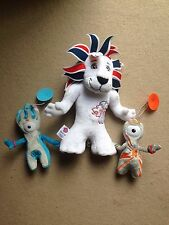 London 2012 Stick On Mandeville And Wenlock Olympics Paralympics & Soft Toy Lion